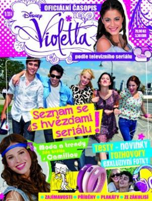 Obrázok Časopis Violetta 1