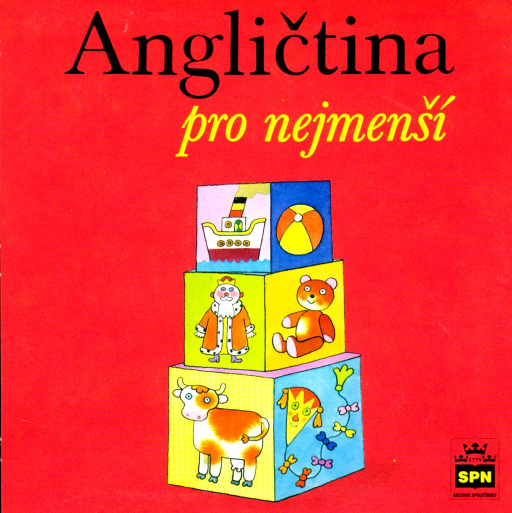 CD Angličtina pro nejmenší