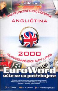 Obrázok CD Euroword Angličtina 2000 nejpoužívanějších slov
