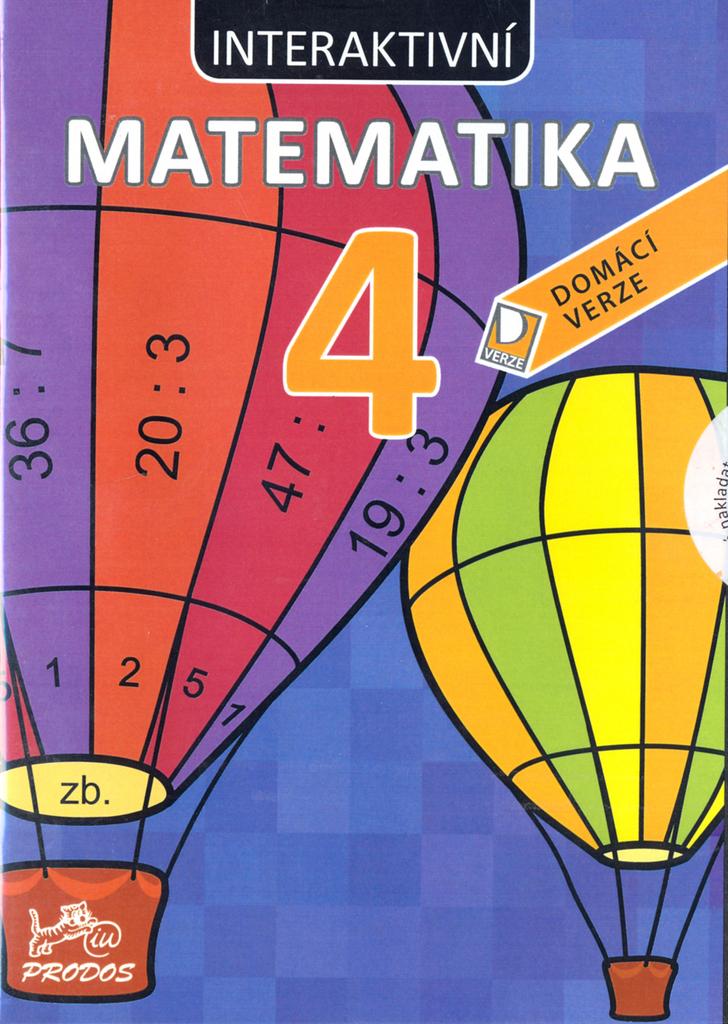 CD Interaktivní matematika 4 (AUDIO CD) - Mgr. Marie Šírová