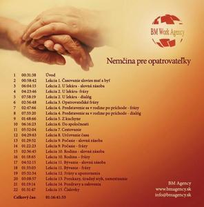 Obrázok CD Nemčina pre opatrovateľky