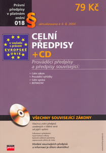 Obrázok Celní předpisy + CD