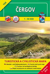 Obrázok Čergov 1:50 000