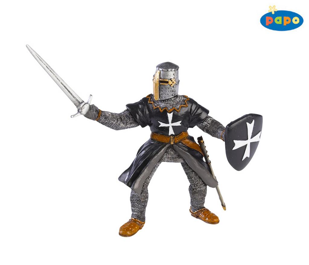 Černý rytíř s mečem