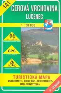 Obrázok Cerová vrchovina Lučenec 1:50 000