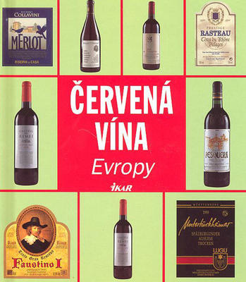 Obrázok Červená vína Evropy