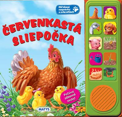 Obrázok Červenkastá sliepočka