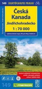 Obrázok Česká Kanada, Jindřichohradecko 1:70 000