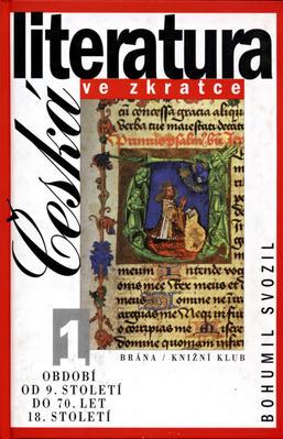 Obrázok Česká literatura ve zkratce 1