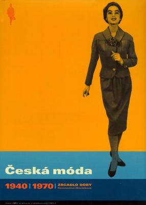 Obrázok Česká móda 1940-1970