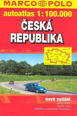 Obrázok Česká republika autoatlas 1:100 000