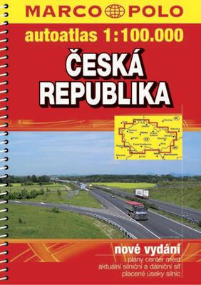 Obrázok Česká republika autoatlas 1:100T