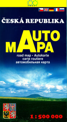 Obrázok Česká republika AUTOMAPA 1:500 000