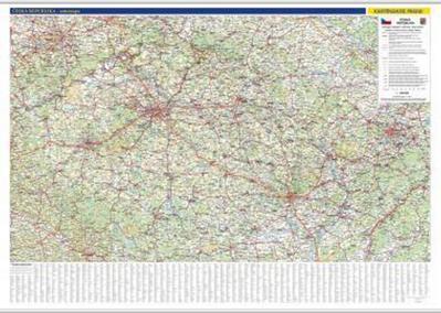 Obrázok Česká republika nástěnná mapa