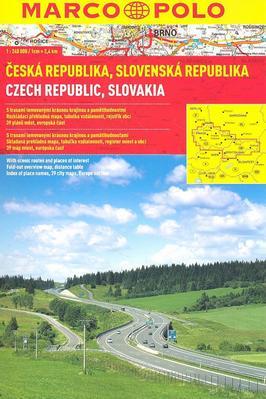 Obrázok Česká republika, Slovenská republika 1:240 000