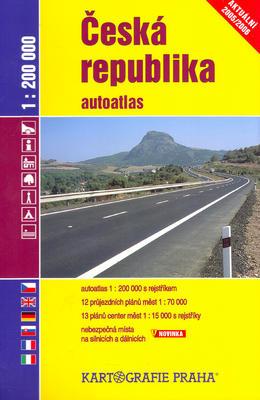 Obrázok Česká repubublika autoatlas