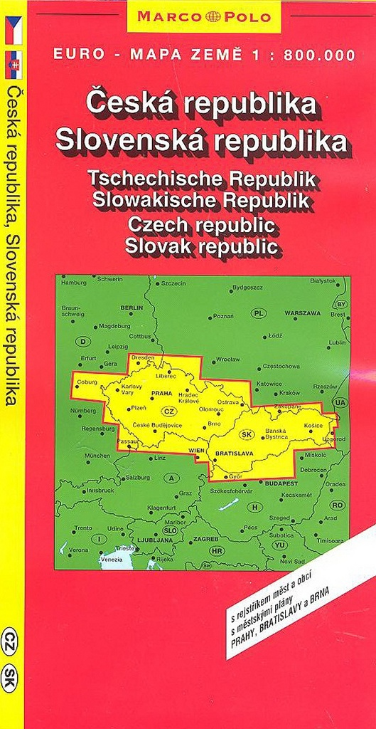 Česká, Slovenská republika 1:800T