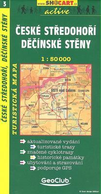Obrázok České středohoří Děčínské stěny 1:50 000