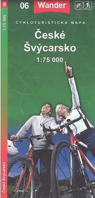 České Švýcarsko 1:75 000