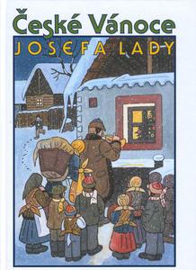 Obrázok České Vánoce Josefa Lady
