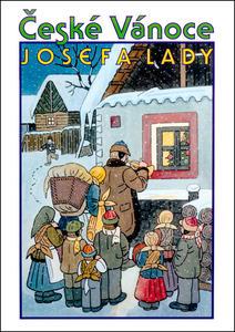 Obrázok České Vánoce Josefa Lady (Josef Lada)