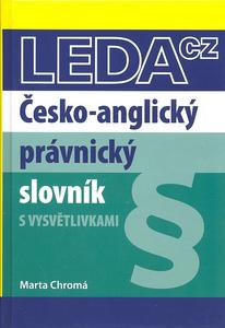 Obrázok Česko-anglický právnický slovník