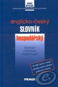 Obrázok Česko-anglický slovník hospodářský