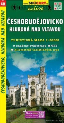 Obrázok Českobudějovicko Hluboká nad Vltavou1:50 000