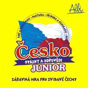Obrázok Česko, otázky a odpovědi JUNIOR