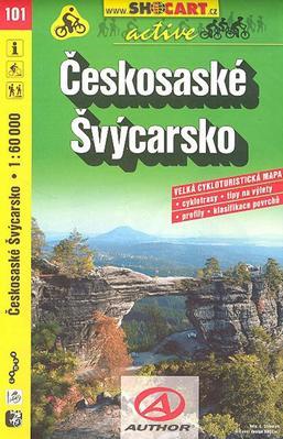Obrázok Českosaské Švýcarsko 1:60 000