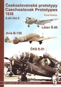Obrázok Československé prototypy 1938 II. díl