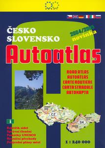 Obrázok Česko Slovensko Autoatlas 2004/2005
