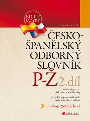 Obrázok Česko-španělský odborný slovník 2. díl