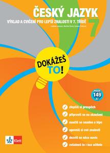 Obrázok Český jazyk 7 Dokážeš to!