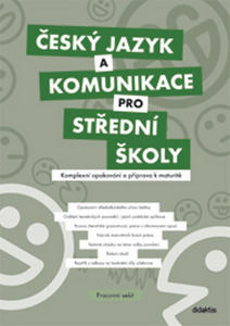 Obrázok Český jazyk a komunikace pro střední školy Pracovní sešit