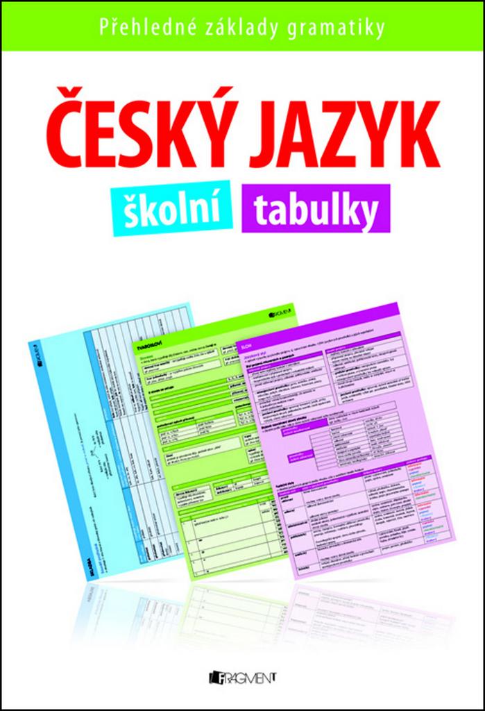 Český jazyk školní tabulky - Renáta Drábová