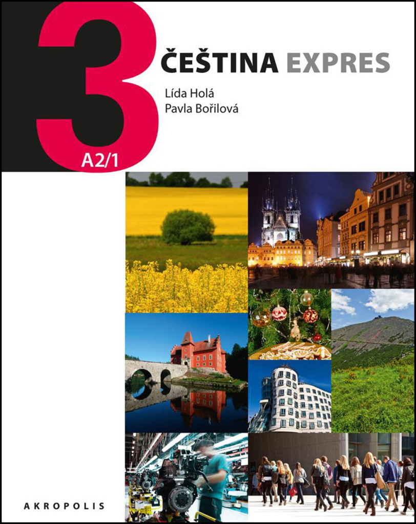 Čeština expres 3 (A2/1) + CD - Lída Holá, Pavla Bořilová