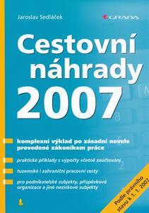 Obrázok Cestovní náhrady 2007