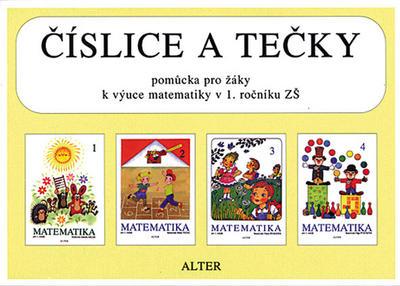 Obrázok Číslice a tečky Pomůcka pro žáky k výuce matematiky v 1. ročníku ZŠ