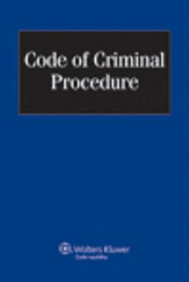 Obrázok Code of Criminal Procedure