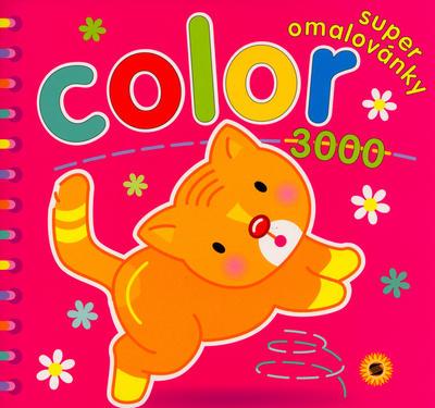 Obrázok Color 3000 Superomalovánky Kočička - omalovánka