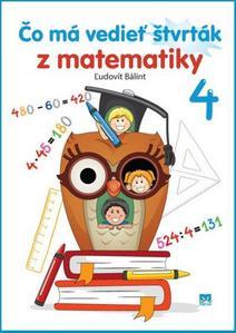 Obrázok Čo má vedieť štvrták z matematiky 4
