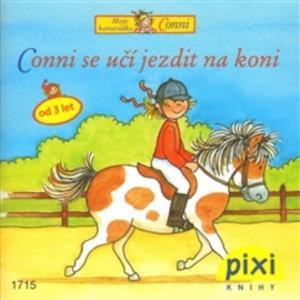 Obrázok Conni se učí jezdit na koni