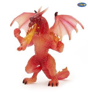 Obrázok Crystal drak červený