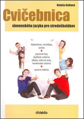 Obrázok Cvičebnica slovenského jazyka pre stredoškolákov