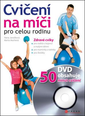 Obrázok Cvičení na míči pro celou rodinu + DVD