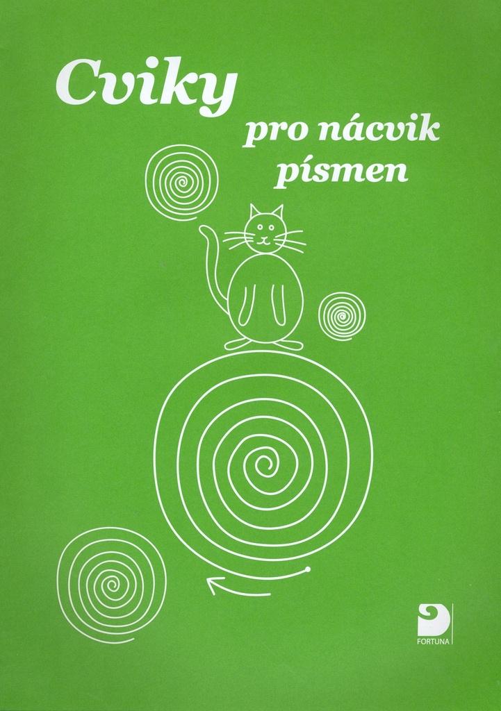 Cviky pro nácvik písmen - Miroslava Čížková