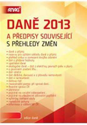 Obrázok Daně 2013 a předpisy související s přehledy změn