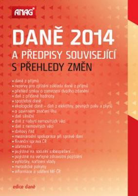 Obrázok Daně 2014 a předpisy související