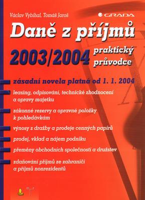 Obrázok Daně z příjmů 2003/2004